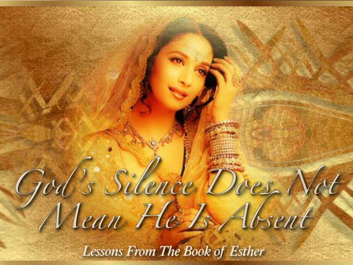 May 31 live stream service - The book of Esther part 4